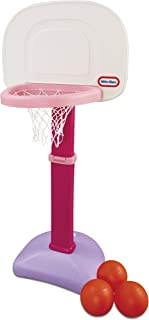 product image for Little Tikes TotSports Easy Score Basketball Set for Kids - Basketball Hoop for Toddlers 1-3 Years - Indoor & Outdoor Basketball Court Game, Toddler Sports Activity Center, Pink