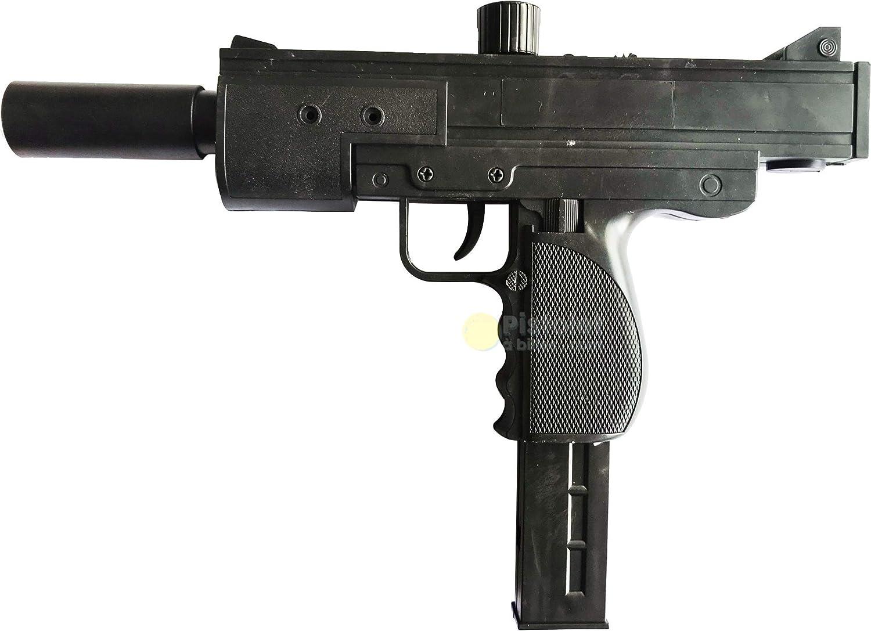 Royal Air Sport Airsoft Mini Uzi -Pistola para Airsoft,con Muelle,de Recarga Manual (0,3 Joule)
