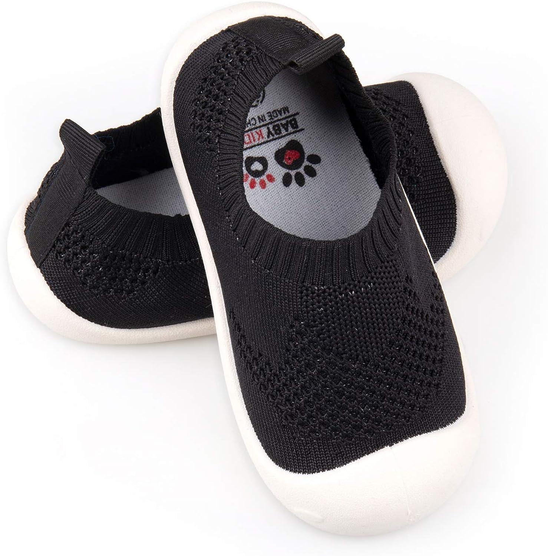 Boys Black Formal Shoes Flexible Sole Baby Boys Matt Black Shoes Infant 1-8