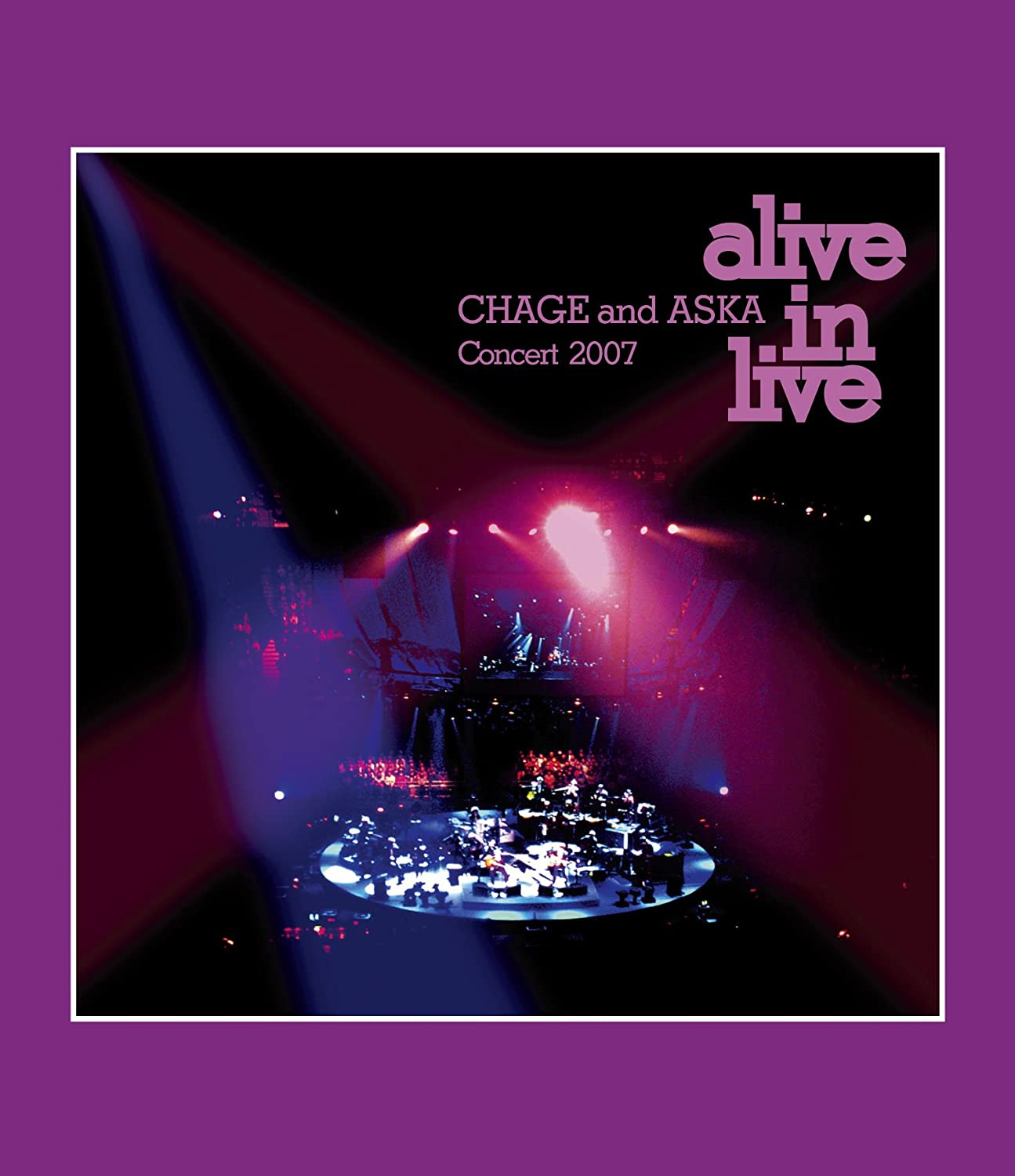 CHAGE and ASKA Concert 2007 alive in live [Blu-ray] B007FGQU1K