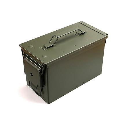 gebraucht mit dichtung Gr Bundeswehr Kiste Munitionskiste aus Metall der U.S 2