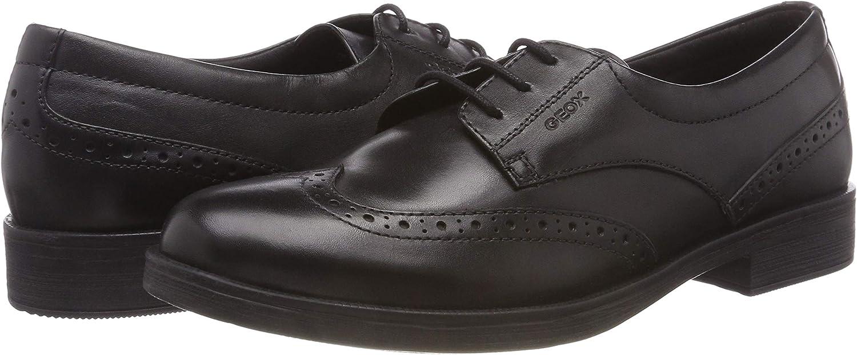 Geox M/ädchen Jr Agata D School Uniform Shoe