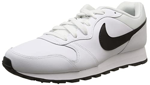 Nike MD Runner 2 Leather - Zapatillas para Hombre, Color Blanco, Talla 45: Amazon.es: Zapatos y complementos