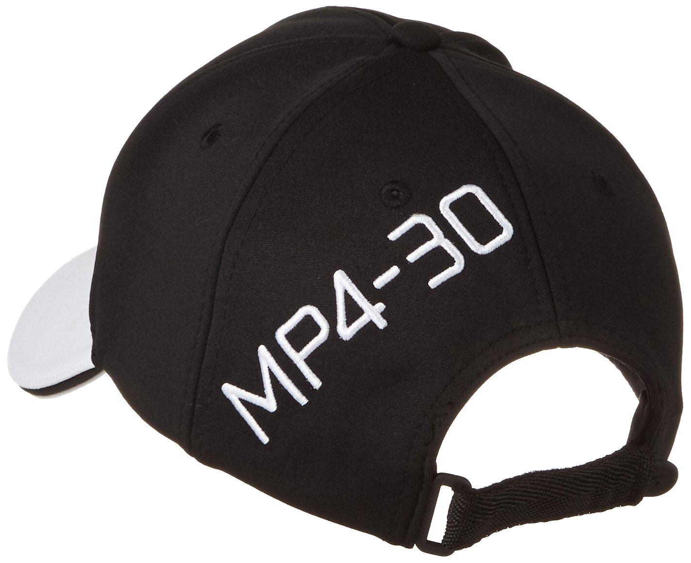 Color Negro//Blanco Hombre tama/ño Talla /única McLaren F1/Hombre Honda Official Team Cap