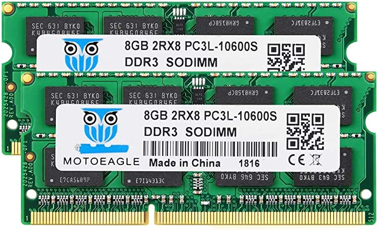 4GB PC3-10600 1333 Mhz DDR3 SODIMM Motoeagle 2Rx8 PC3 10600S 204-pin Memory Upgrade for Laptop