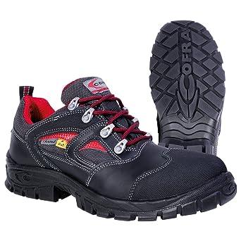 ccc5589b460 Cofra zapatos de seguridad Hymir S3 13060-000 Asgard, ESD zapatos BGR191  colour negro