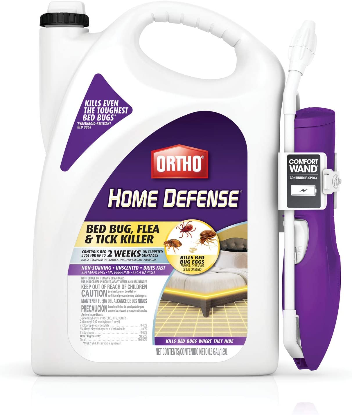 Ortho 0202510 Home Defense Max Bed Bug, Flea and Tick Killer Featured Image
