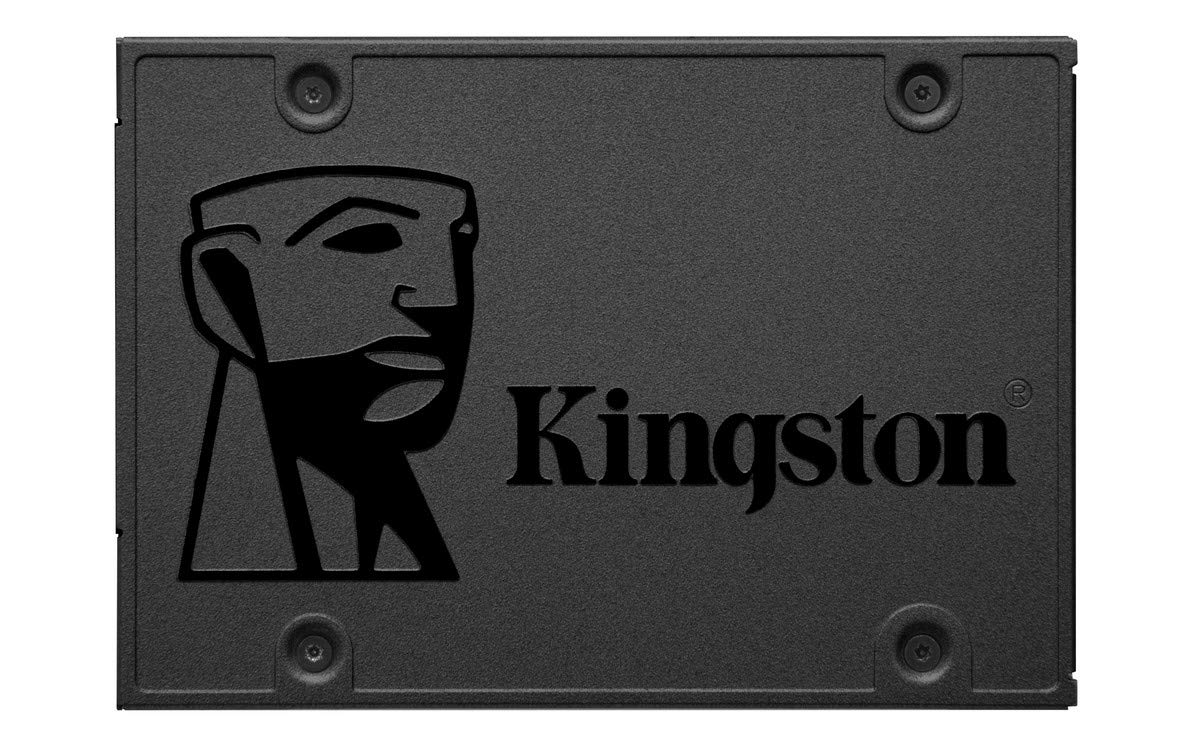 """Kingston 480GB A400 SATA 3 2.5"""" Internal SSD SA400S37/480G - HDD Replacement for Increase Performance"""