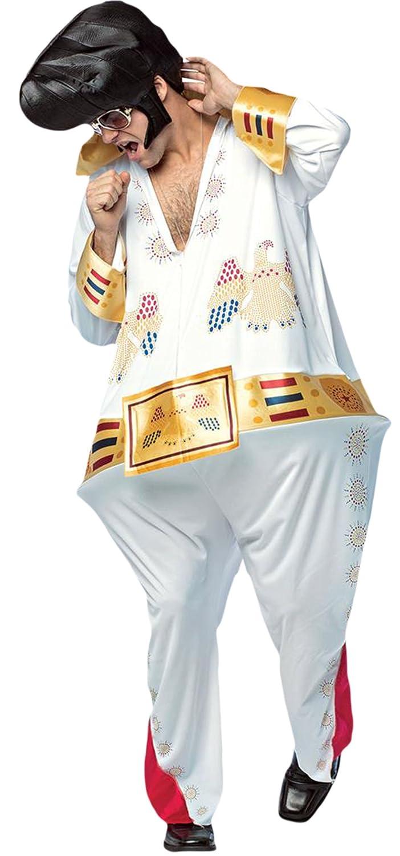 Karnevalsbud King - Herren The King Karnevalsbud Komplett Kostüm Karneval , Weiß, Größe M-XL 34ee3a