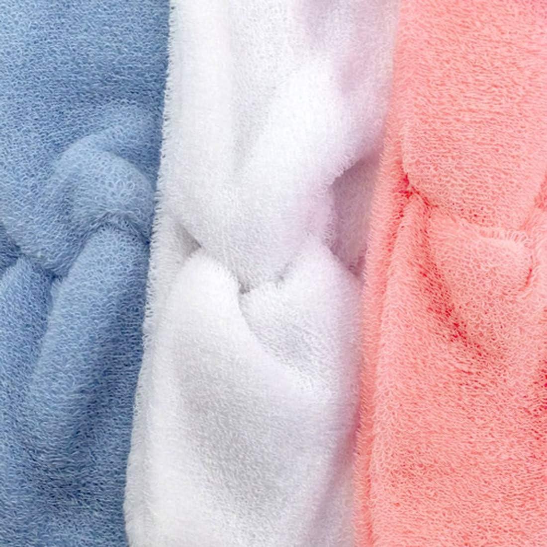 Fasce per capelli Rosa Fascia per capelli spugna di cotone made in Italy cm 7 con nodo centrale 1110