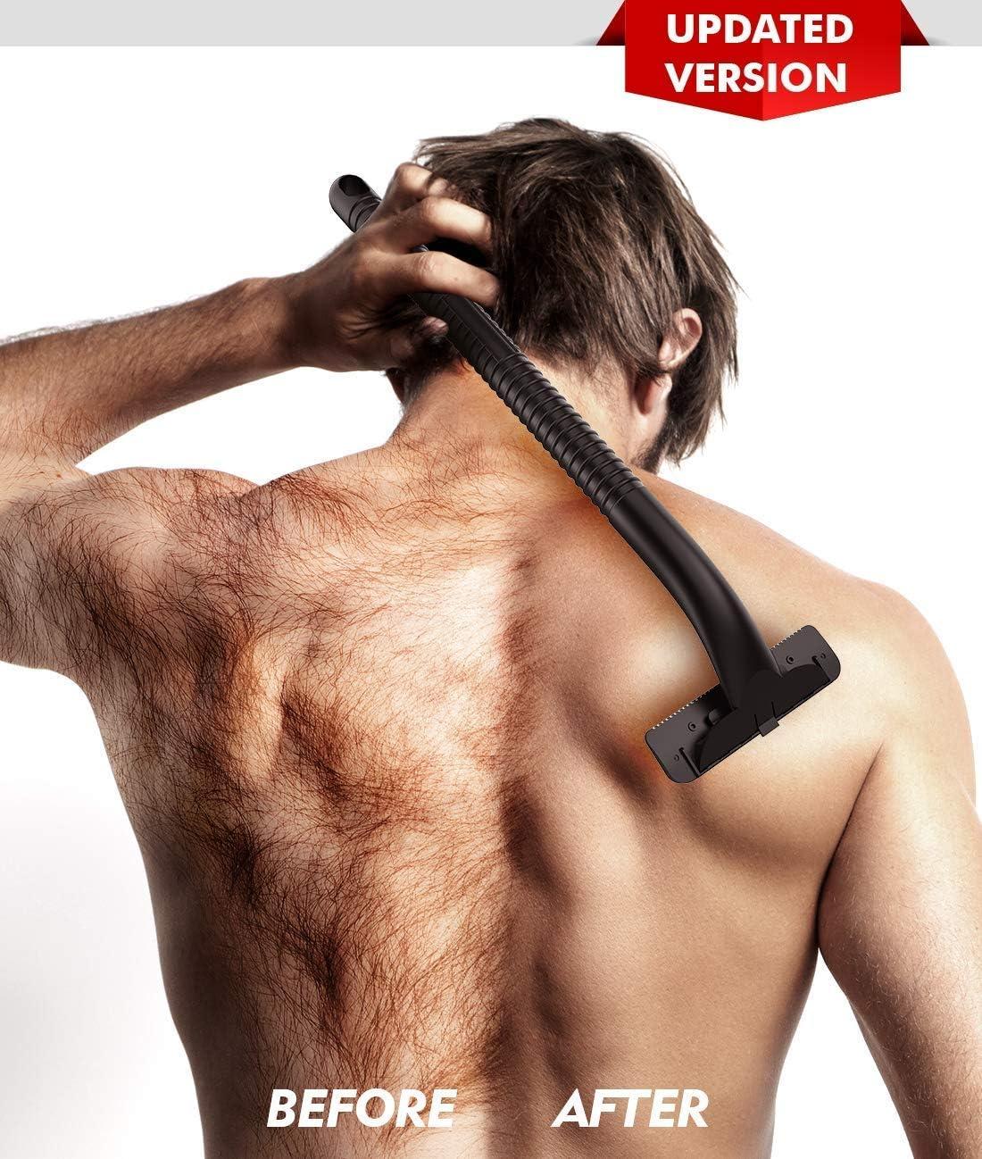 Afeitadora de Espalda, OXA Espalda para Hombre Maquinilla de ...