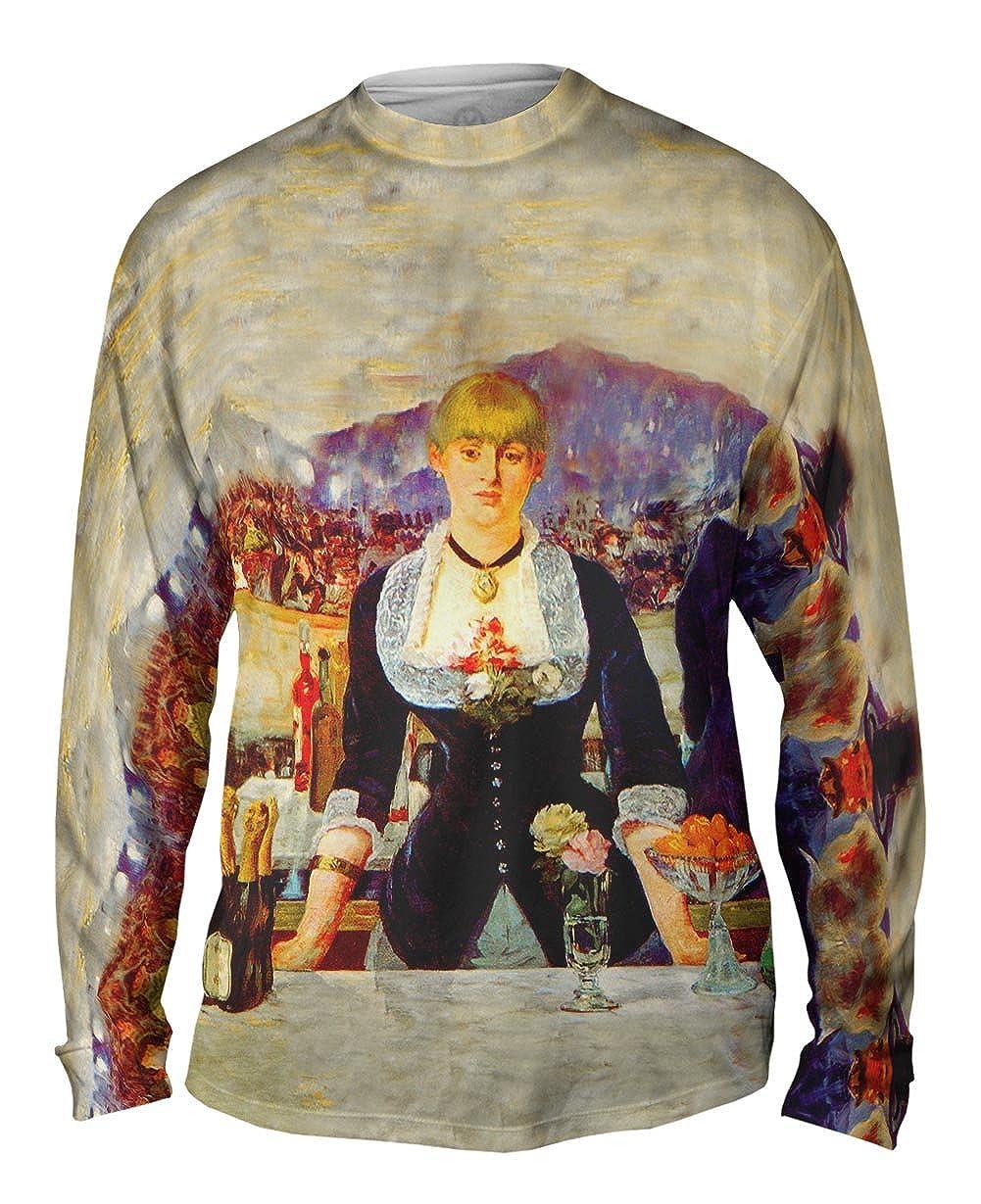 Mens Long Sleeve 2263 Yizzam Edouard Manet A Bar At The Folies