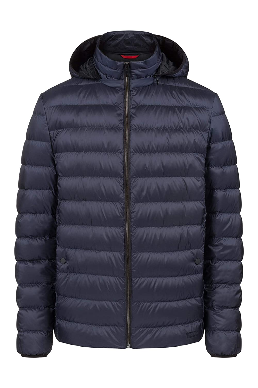 b4fbf61c8e Amazon.com: Hugo Boss Balin 1841 Mens Puffer Jacket with Hood: Clothing