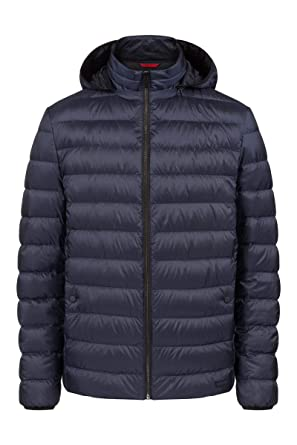 9dd9d21b3 Amazon.com  Hugo Boss Balin 1841 Mens Puffer Jacket with Hood  Clothing