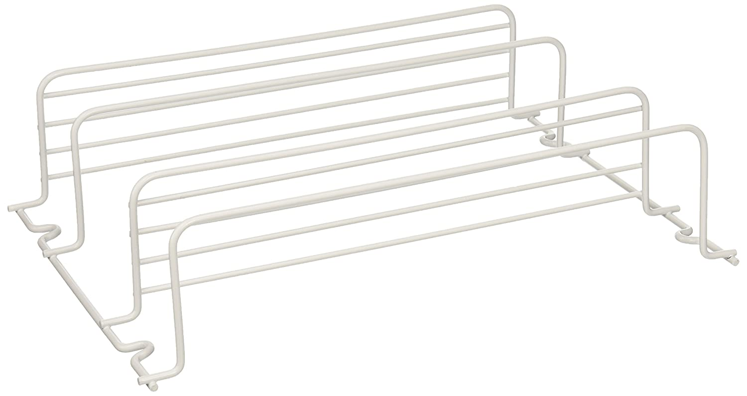 Grayline 40504, Two Shelf Spice Rack, White
