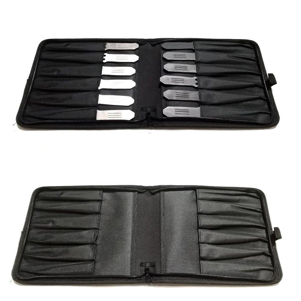 Amazon.com: Avias - Juego de 12 cuchillos tácticos de metal ...