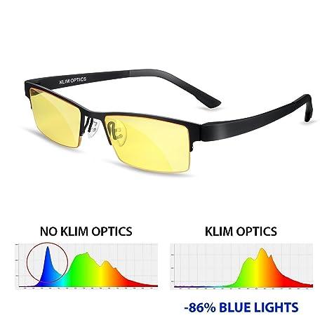 ⭐️KLIM Optics Blue Light Blocking Glasses   High Protection For Screen   Blue  Blocker Gaming