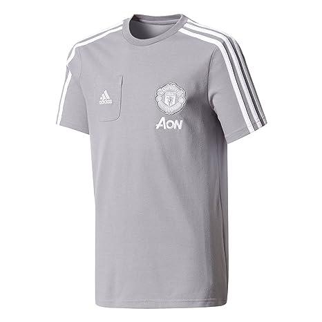 910adb5cc88 Amazon.com   adidas Manchester United Kids Training T-Shirt 2017 18 ...