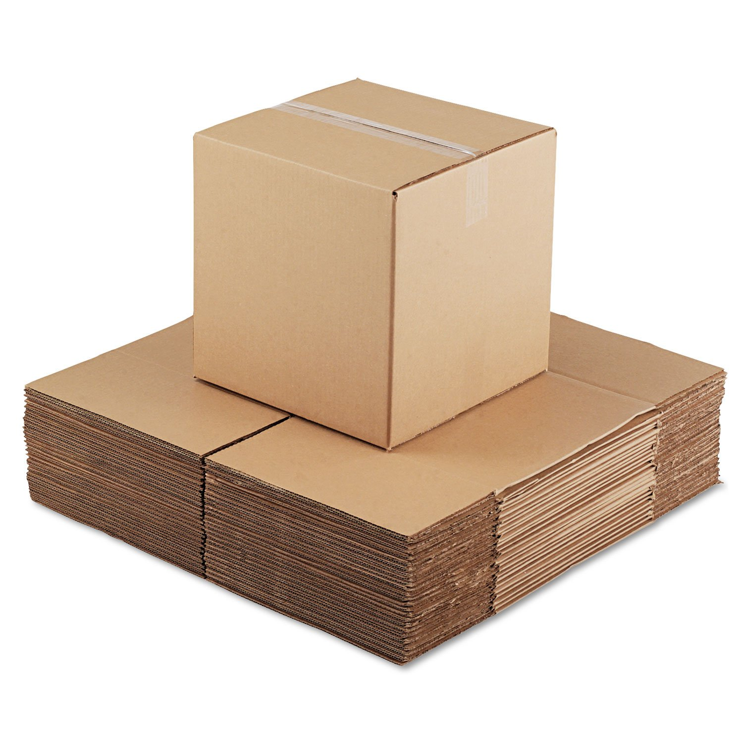 General Supply 141414 Brown Corrugated - Cubed Fixed-Depth Shipping Boxes, 14Lx 14Wx14H, 25/Bundle by Miller Supply Inc (Image #3)