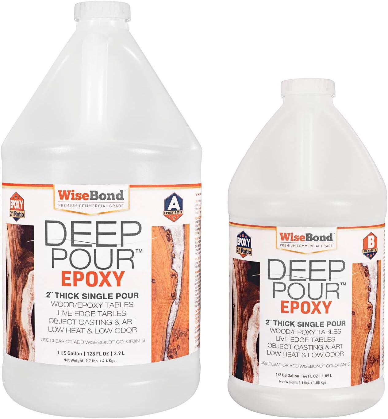WiseBond DEEP Pour-1.5 Gallon Epoxy Resin