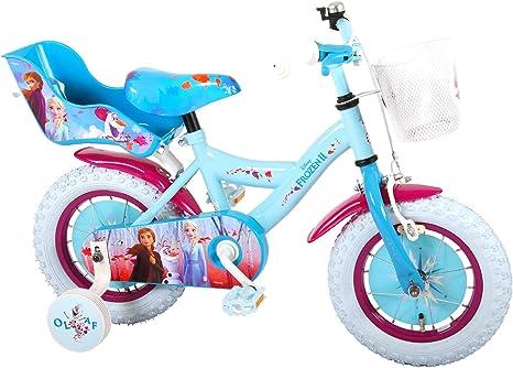 Disney Bicicleta Niña Chica 12 Pulgadas Frozen 2 Freno Delantero ...