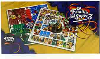 Comansi Club Super3 Juego de Mesa Parchís/ Oca: Amazon.es: Juguetes y juegos