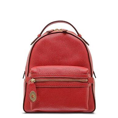 853ca0f58fc40 COACH Women s Campus Backpack 23 in Polished Pebble Leather Li Jasper One  Size