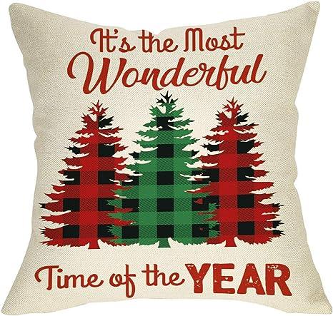18/'/' Christmas Pillow Case Throw Cushion Cover Pillowcase Xmas Sofa Home Decor