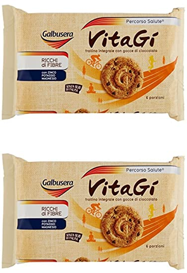 "Galbusera""Vitagi"" Integral Biscuits with Chocolate Drops ..."