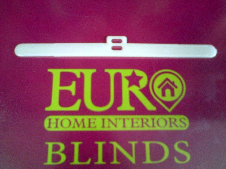 "40 x Top Hangers For Vertical Blinds 127mm//5/"" Single//Double Slot Type Opaque"
