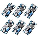Muzoct 6Packungen LM2596 DC bis DC Buck Converter 3.0–40 V auf 1,5–35 V Netzteil Step Down Modul Konverter