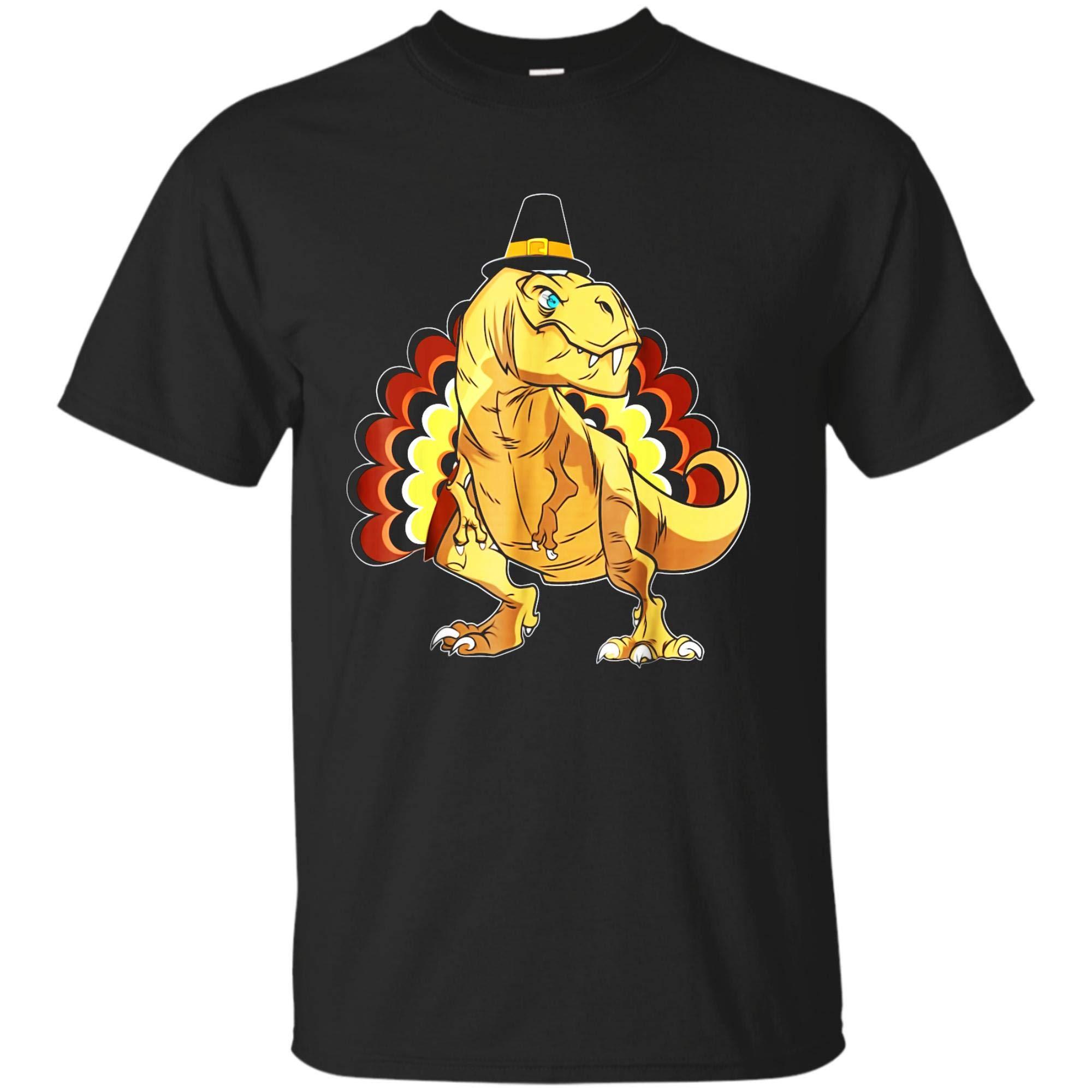 Dinosaur T Rex Thanksgiving Tshirts Turkey Thanksful Shirts