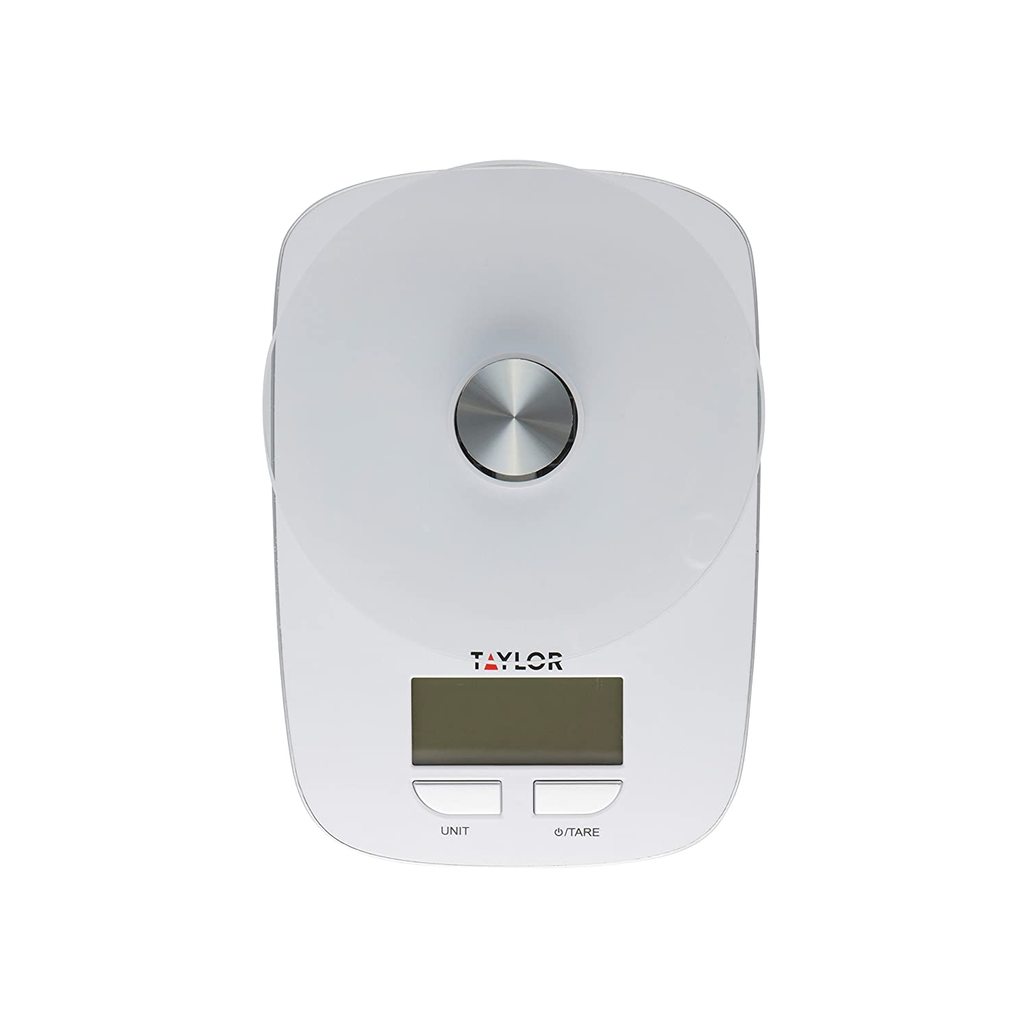 Amazon.com: Taylor Glass Platform Digital Kitchen Scale (White): Kitchen U0026  Dining