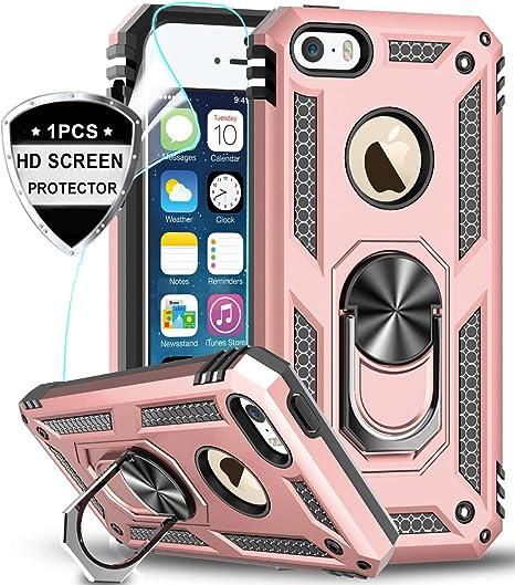 LeYi Custodia iPhone 5S/ iPhone SE/iPhone 5 /iPhone SE 2 Cover con