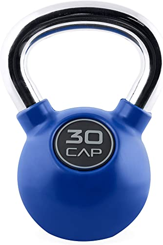 CAP Barbell Rubber Color Coated Kettlebell