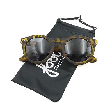 Occhiali da sole leopardati marroni Fool Venezia 2 in plastica gommata  antiurto  Amazon.it  Abbigliamento 583cb04b28b2