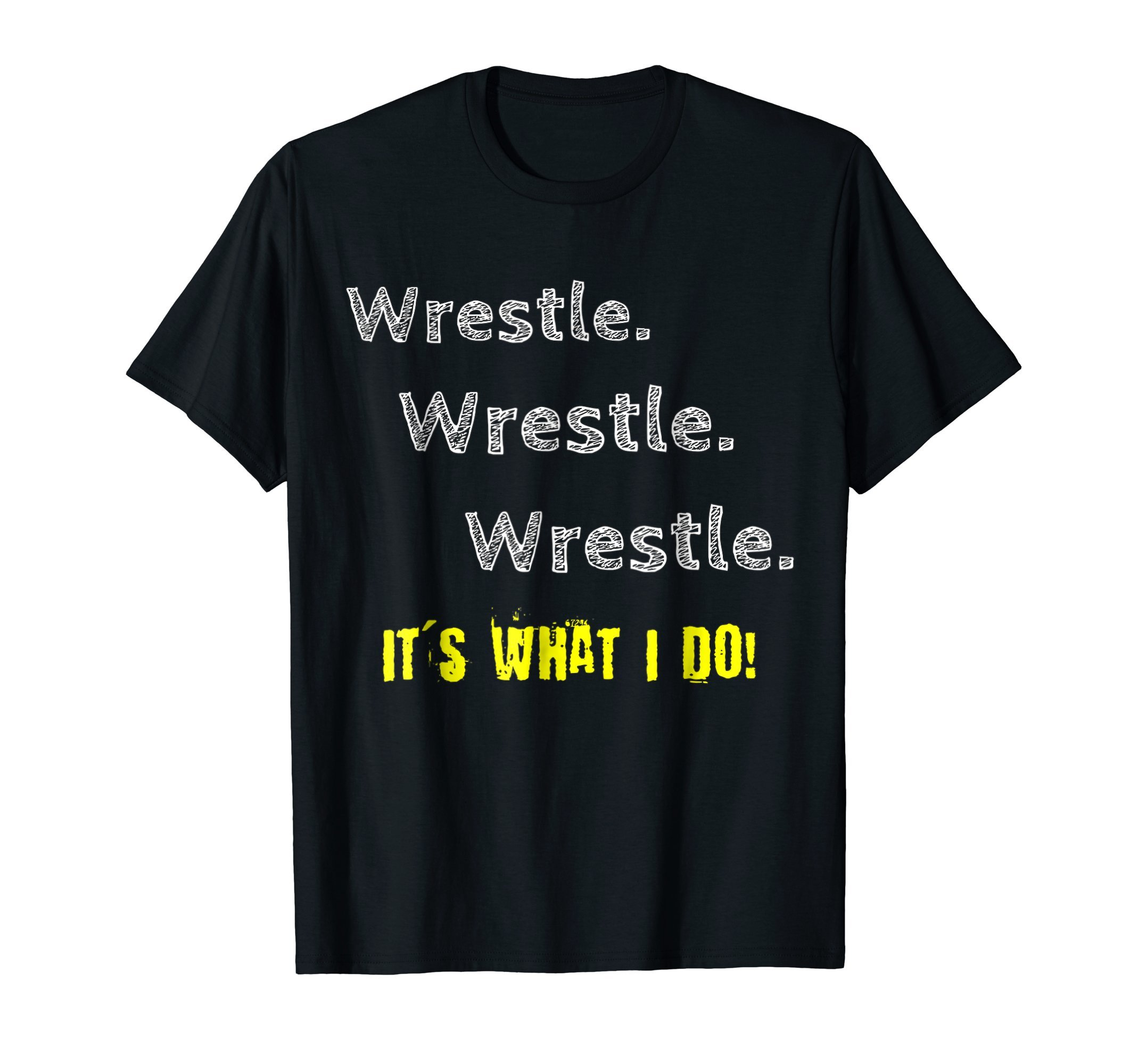 Wrestling Youth Wrestle It's What I Do Tshirt Tee