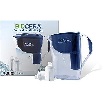 Amazon Com Biocera Alkaline Anti Oxidant Jug Filter