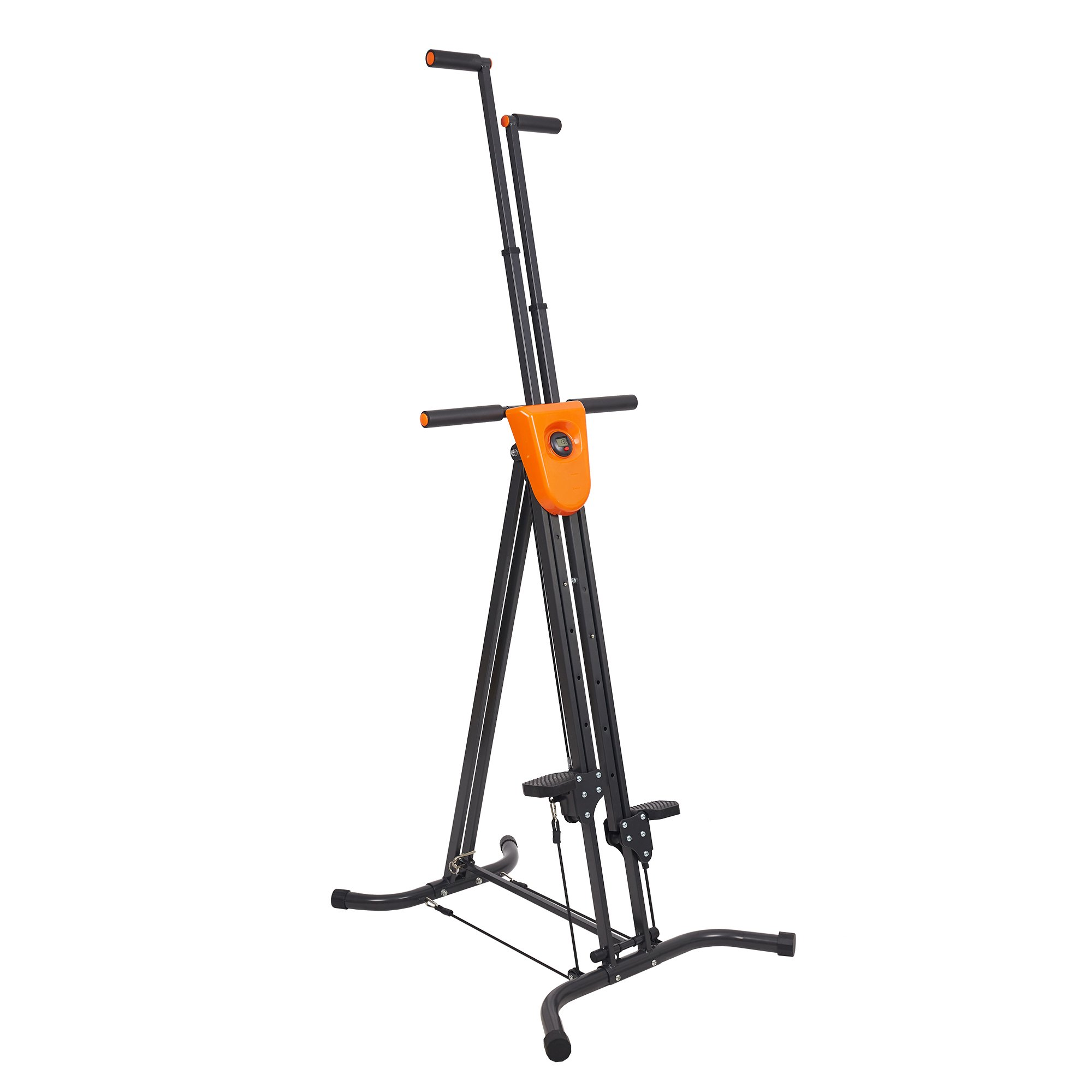 Livebest Folding Climbing Machine Vertical Stepper Exercise for Home Cardio Fitness Gym