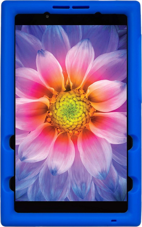 BobjGear Bobj Rugged Tablet Case for Lenovo Tab E8 TB-8304F TB-8304F1 Kid Friendly (Batfish Blue)
