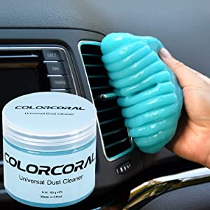 Cleaning Gel Universal Gel Cleaner for Car Vent Keyboard Auto Cleaning Putty Dashboard Dust Remover Putty Auto Duster Cleaning Kit 160G