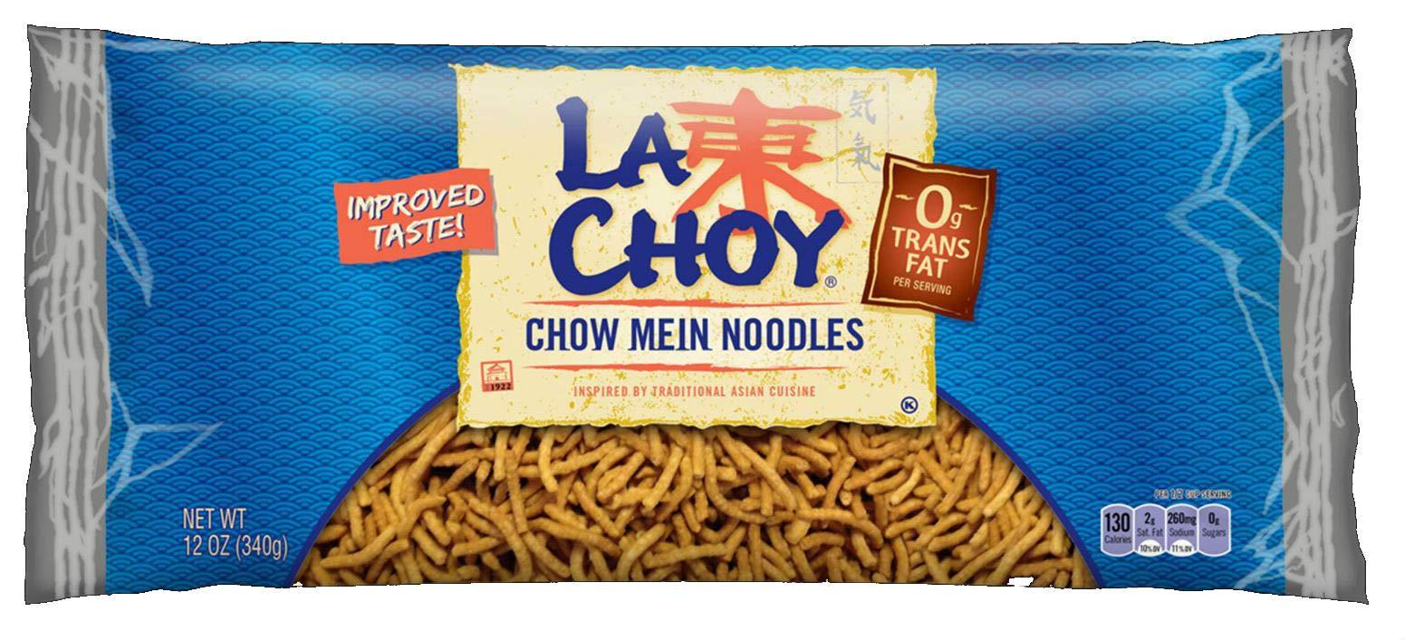 La Choy Chow Mein Noodles, 12 Ounce Bag, 12 Pack