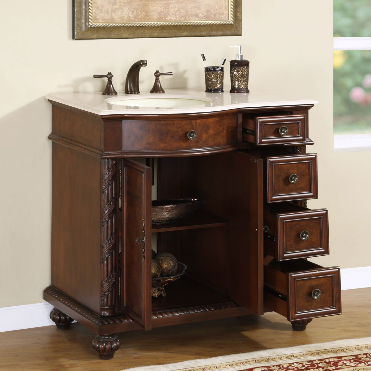 design bathroom magnificent vanity classic decor cabinets ideas hutch cabinet