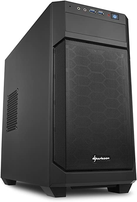 Sharkoon V1000 - Caja de Ordenador, PC Gaming, MICRO-ATX, Negro ...