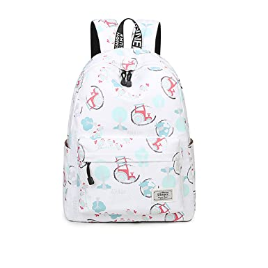 Image Unavailable. Image not available for. Color  Women Backpack  Stationery Pattern School Children ... 8c40944ad88ec