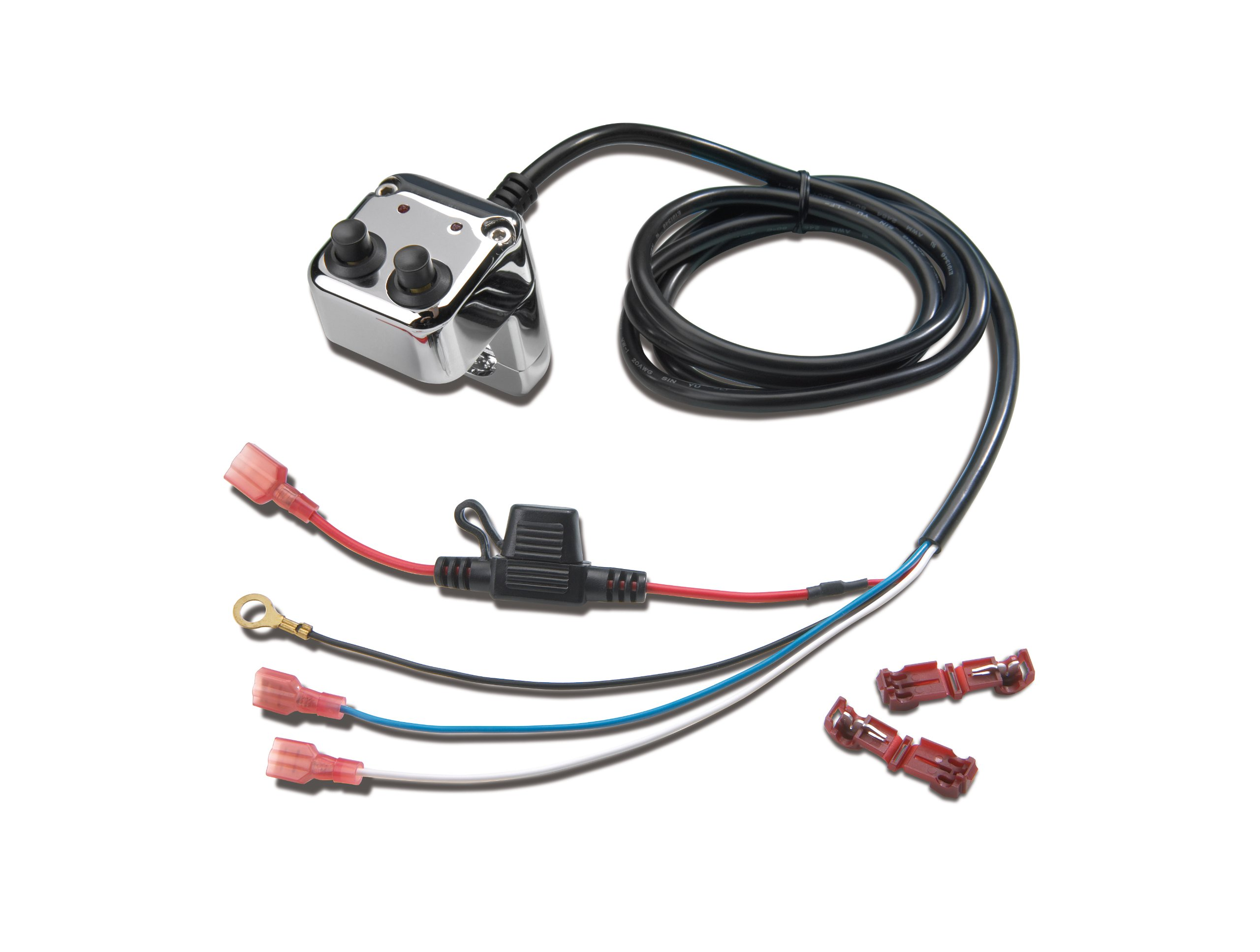 Show Chrome Accessories 13-207 Accessory Switch Block by Show Chrome Accessories (Image #1)