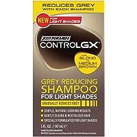 Just for Men Control Gx Grey Reducing Shampoo, Blonde & Medium Brown, 5 fl oz (Pack of 2)