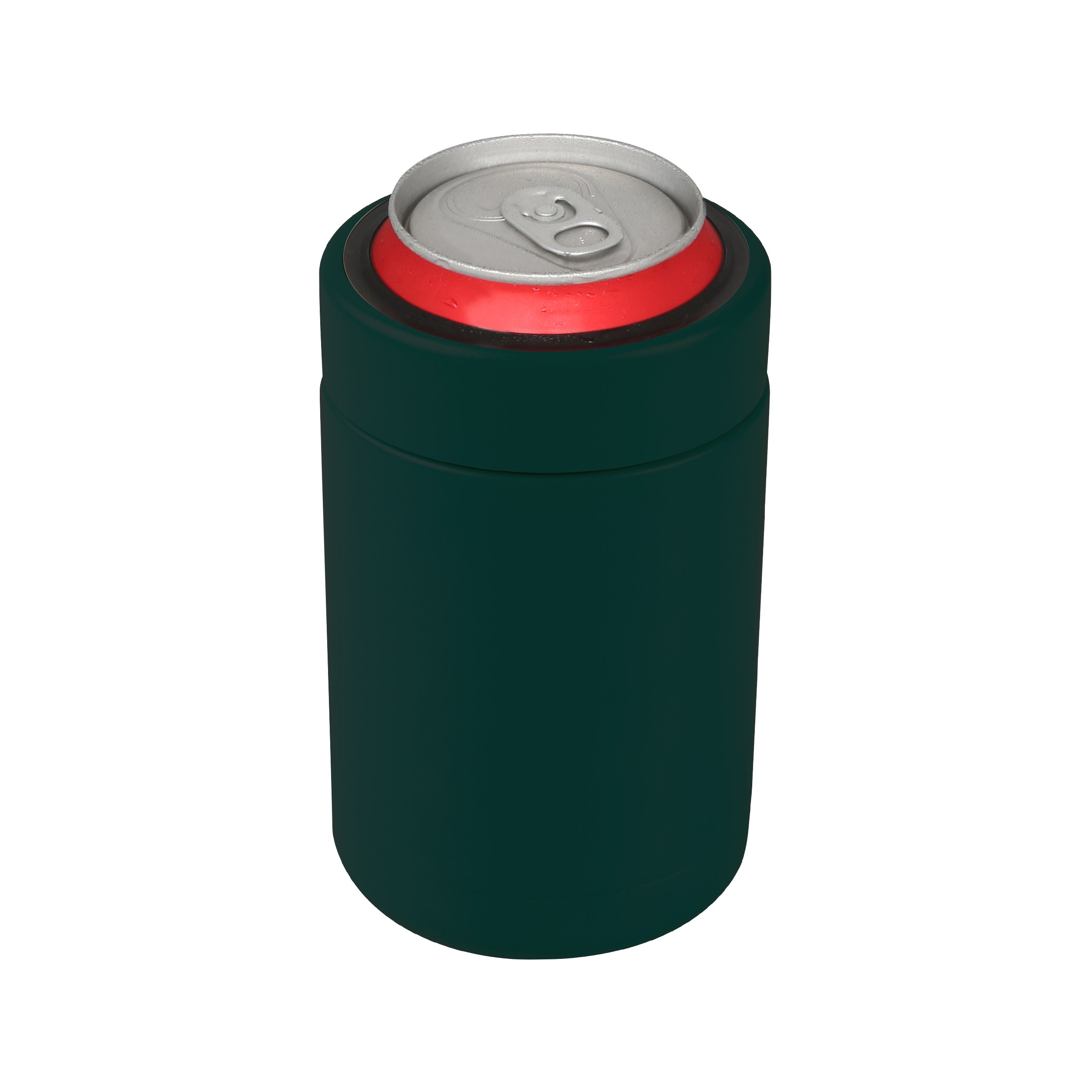 Tahoe Trails 12 oz Stainless Steel Double Wall Vacuum Insulated Can Cooler (dark green) by Tahoe Trails (Image #4)