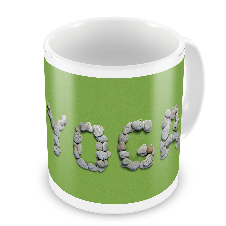 Coffee Mug Yoga Spa Stones Rocks - NEONBLOND