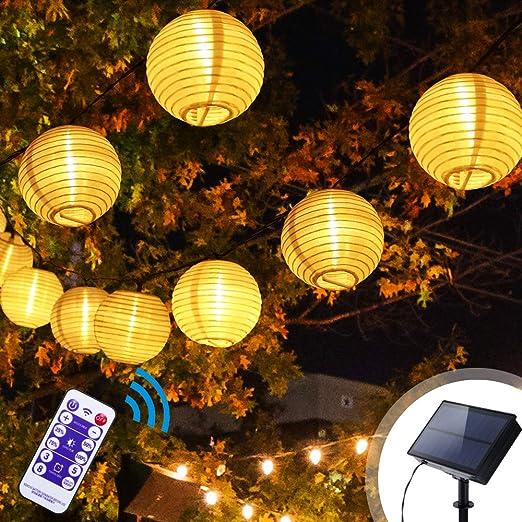 Lanterne Solari Per Esterni Ghirlande Di Luci Konesky Luci